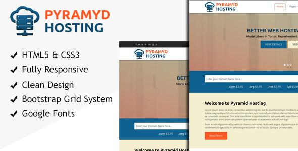 Pyramyd Hosting – Responsive Internet Hosting HTML Template (Hosting)