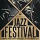 Golden Jazz Flyer Template