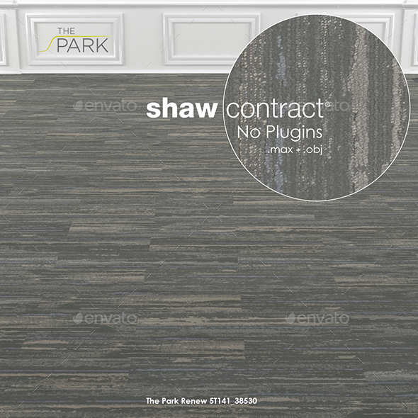 3DOcean Shaw Contract Carpet The Park Renew No 1 19398074