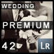 42 Wedding Style Lightroom Presets