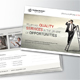Corporate Business Postcard Template V16