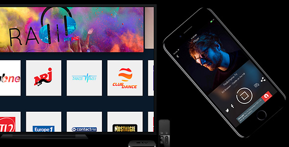 Radio Play for iOS and tvOS - CodeCanyon Item for Sale