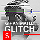 Download Gif Animated Glitch - Photoshop Templates from GraphicRiver