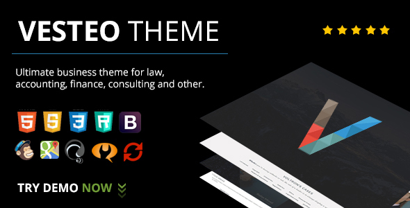 Download Vesteo Business Multi-Purpose Responsive Theme