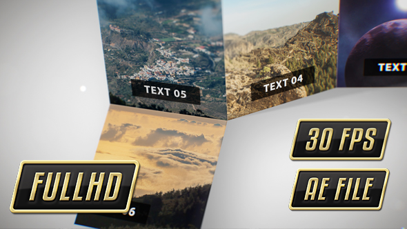 VideoHive Flipping Photo Cards 19401747
