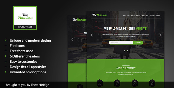 Download ThePhantom - Multipurpose WordPress Theme