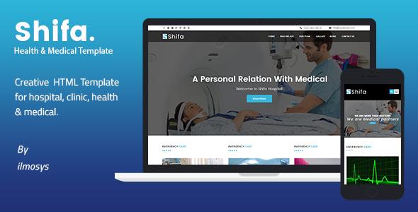 Health & Medical HTML Template - Shifa
