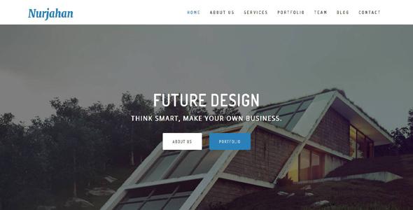 Nurjahan - Creative Architecture & Interior HTML5 Template