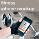 Fitness Phone Photo Mockup