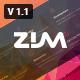 Zim - Multi-Purpose OnePage agency Template
