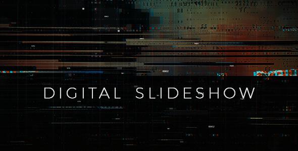 VideoHive Digital Glitch Slideshow 19402820