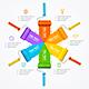 Download Vector Roller Brush Infographic Menu. Vector