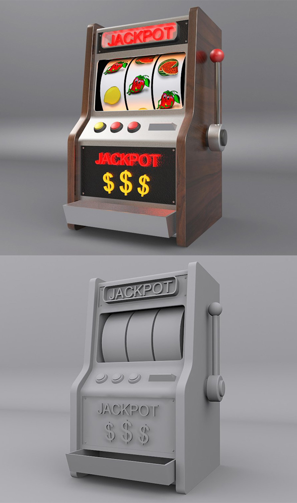 Slot Machine - 3DOcean Item for Sale