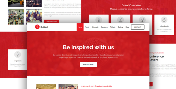 Guident-Event Template