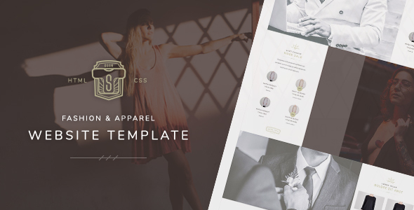 TS - Fashion & Apparel Store Website Template