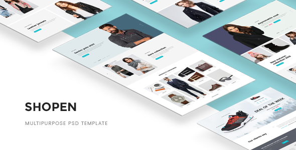 Shopen — Multipurpose PSD Template