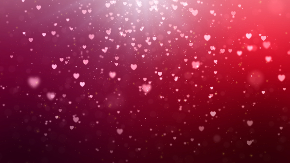 VideoHive Heart Particles 02 19405132