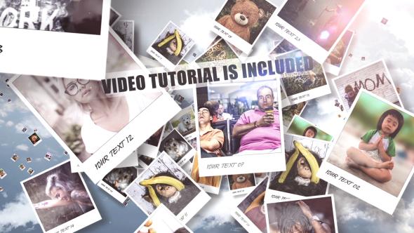 VideoHive Heavenly Gallery Slideshow 19405503