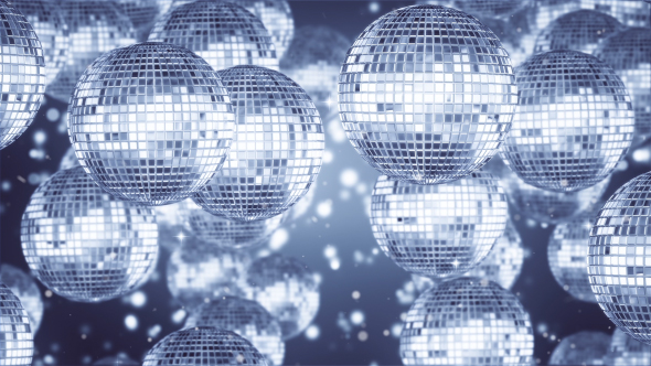 VideoHive Disco Ball Silver Background 19405595