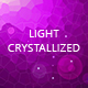 Light Crystallized Backgrounds