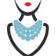 Necklace Fashion Logo