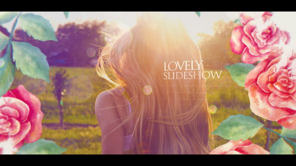 VideoHive Lovely Slideshow 19406426