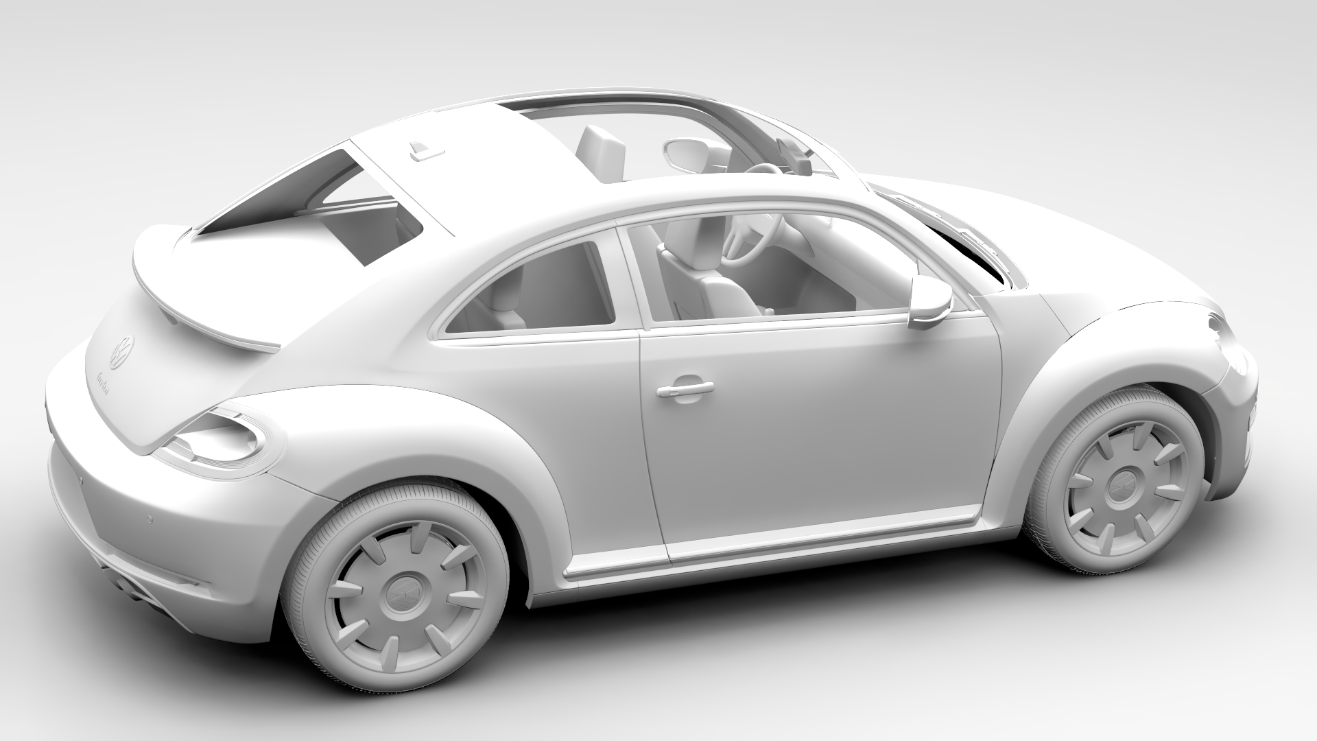 vw beetle turbo 2017 by creator 3d 3docean. Black Bedroom Furniture Sets. Home Design Ideas