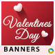 Valentines Day Banners - Image Included