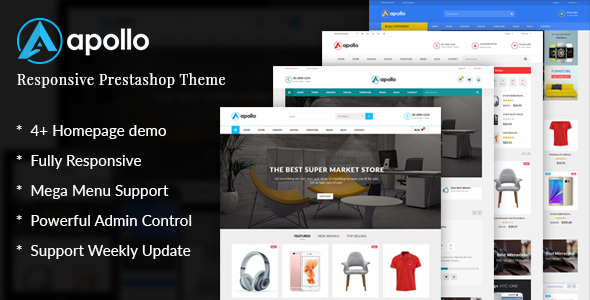 JMS Apollo - Responsive Prestashop 1.6 and 1.7 Theme