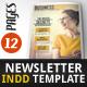 Newsletter Indesign Vol2