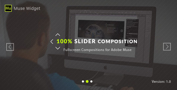 100% Slider Composition – Adobe Muse Widget (Muse Widgets)