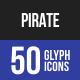 Pirate Glyph Icons
