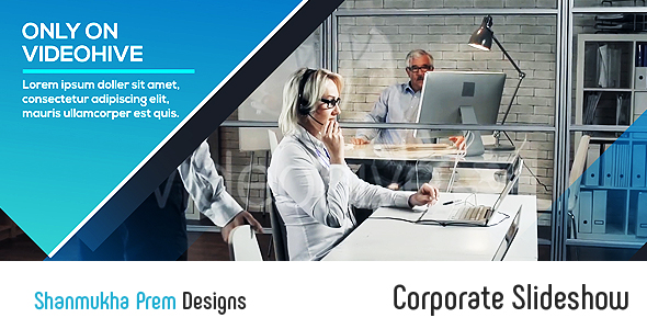 VideoHive Corporate Slideshow 19407623