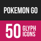 Pokemon Go Glyph Inverted Icons