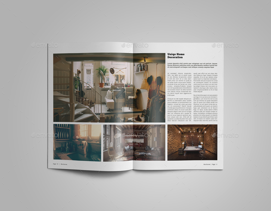 Interior Design Catalogue Template by Le_Parte   GraphicRiver