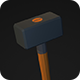 Low Poly Sledgehammer V1