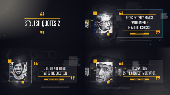 VideoHive Stylish Quotes 2 19408660
