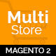MultiStores - Magento 2 Megashop Theme support Multiple Stores