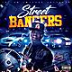 Street Bangers Mixtape CD Cover Template