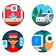 Innovative Technology Set Icons