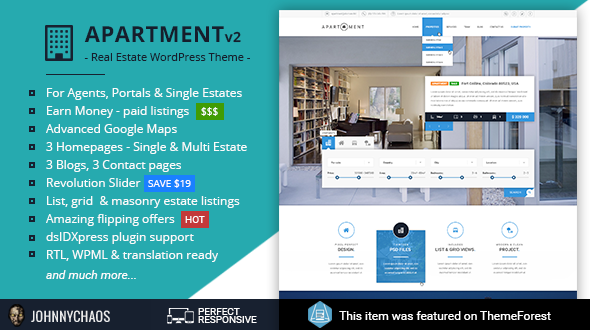 Apartment WP – Real Estate Responsive WordPress Theme for Agents ...