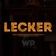 Cafe Restaurant Wordpress Theme | Lecker Restaurant