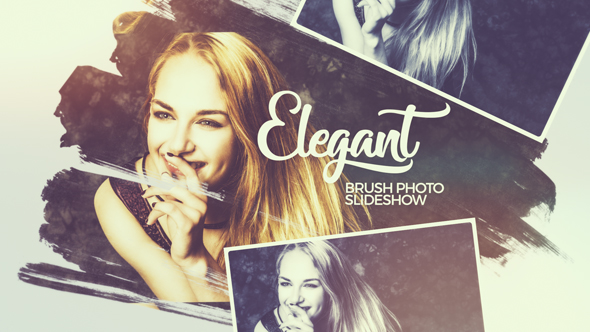 VideoHive Elegant Brush Photo Slideshow 19409298