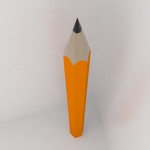 Pencil - 3DOcean Item for Sale