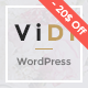 ViDi - Multi-Purpose Creative Portfolio WordPress Theme