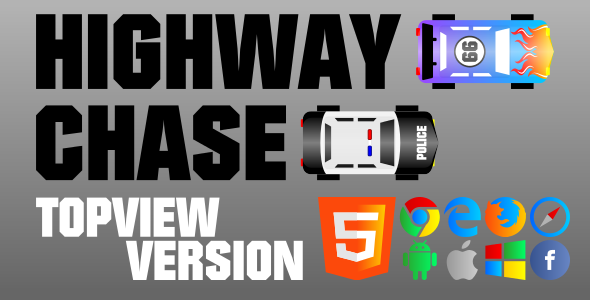 Highway Chase (TopView) - HTML5 Game