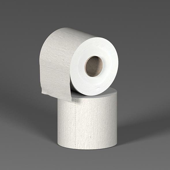 Toilet paper - 3DOcean Item for Sale