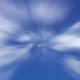 High Speed Cloud Journey - Blue & Transparent BG