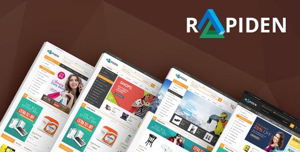 Rapiden - Mega Shop eCommerce Template