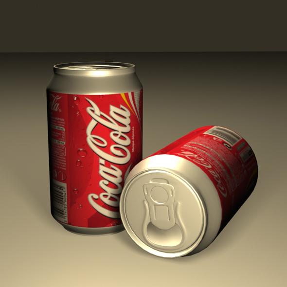 3DOcean Coca Cola Can 01 19412495